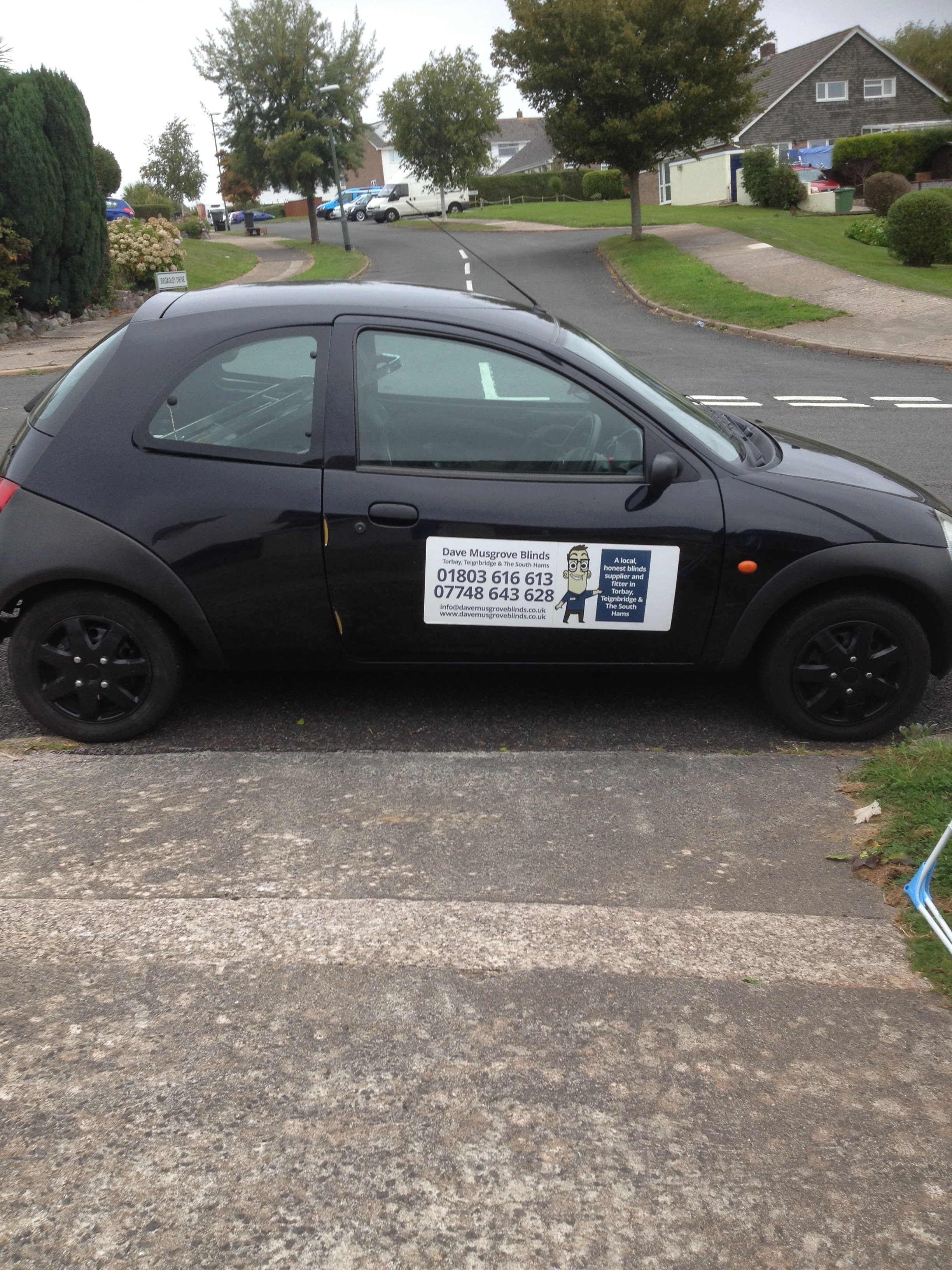 Look out for my temporary car! Featured Image