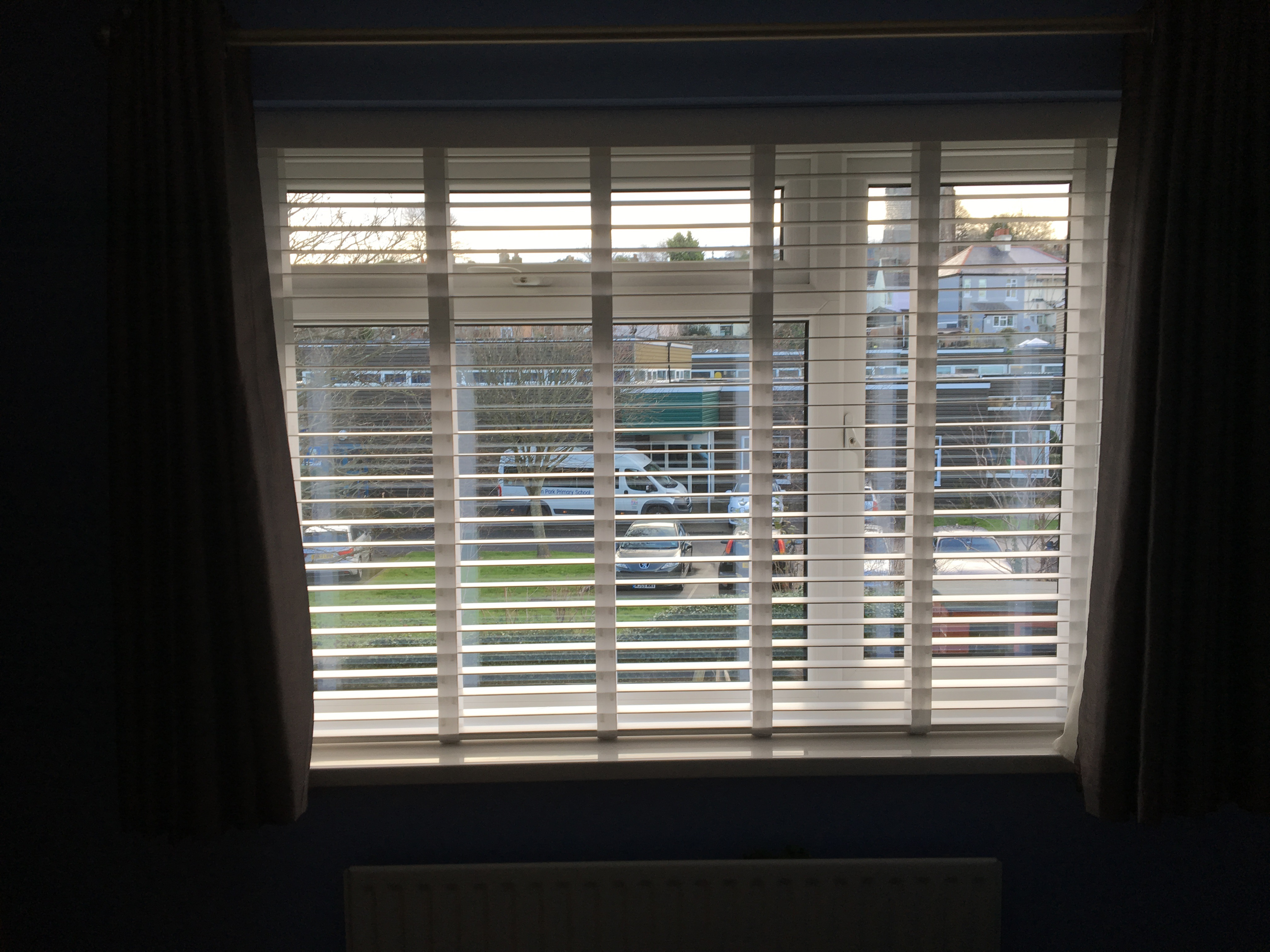 Taped Wooden Venetian Blinds Featured Image