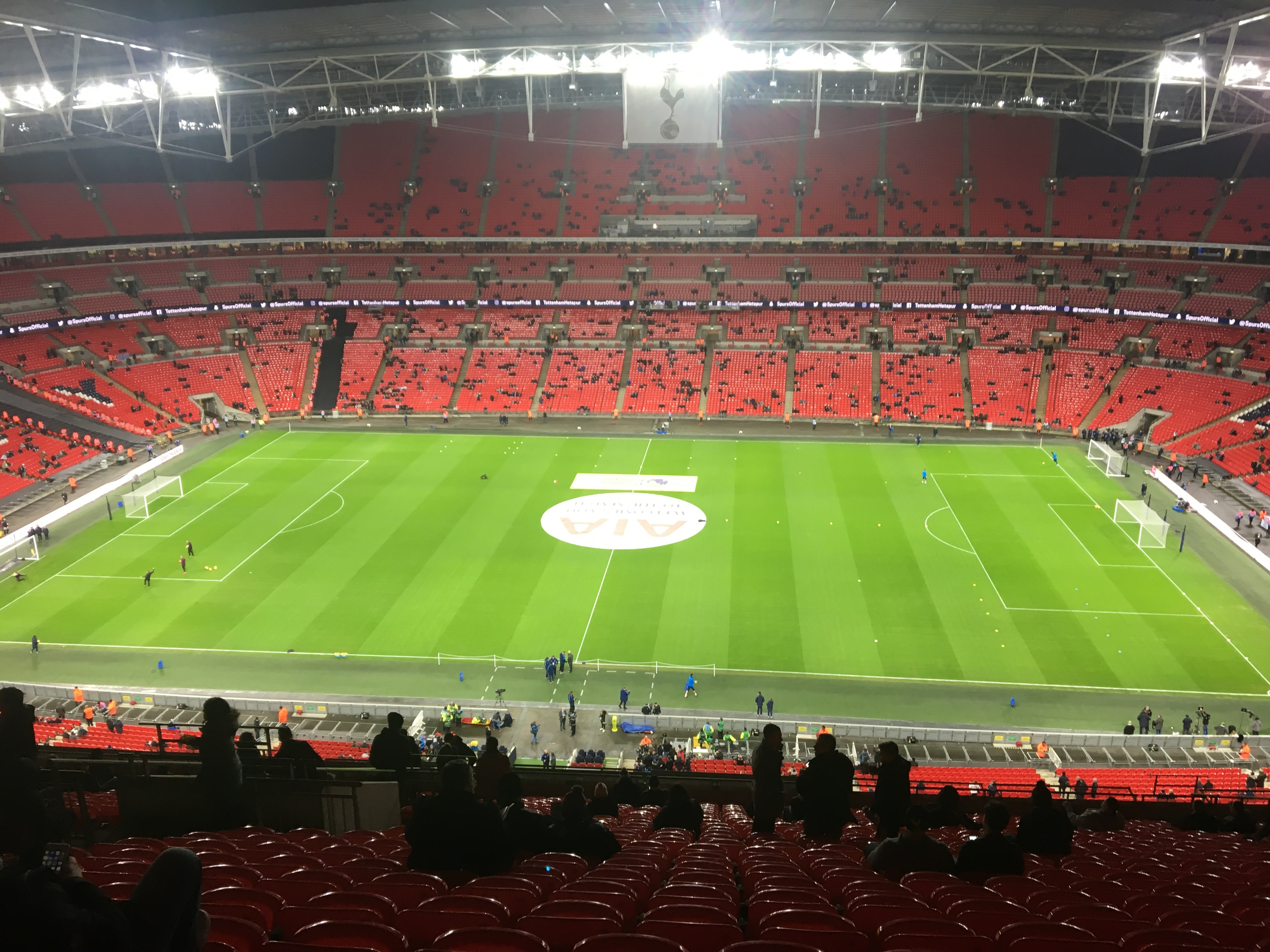 First trip to new Wembley Featured Image