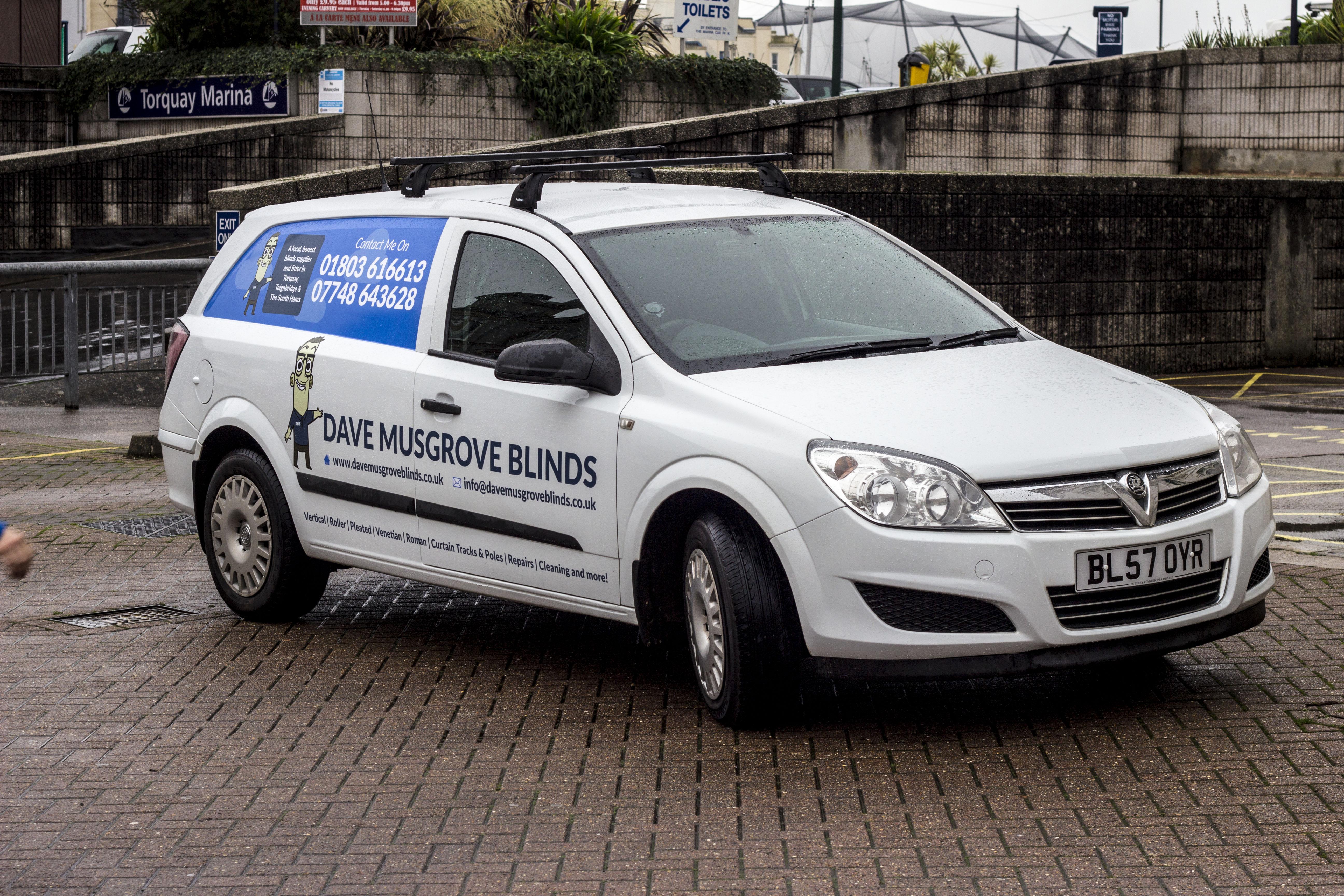 My New Van Dave Musgrove Blinds